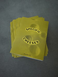 Specific Cheeses Fanzine #1